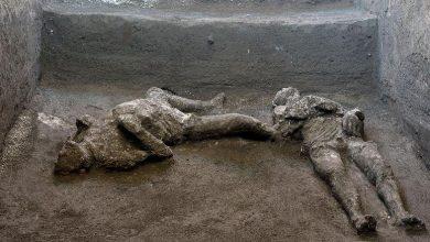 Photo of أنقاض بومبي تكشف عن جثث محترقة لرجل غني وخادم
