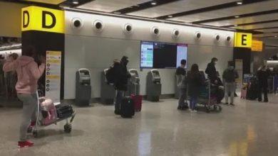 Photo of بريطانيا تقلص الحجر إلى 5 أيام بعد إجراء فحص كورونا بالمطارات