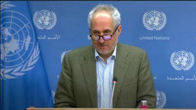 Photo of الأمم المتحدة ننظر في مقترح روسيا تطعيم موظفينا ضد كورونا