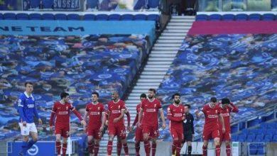 Photo of برايتون يخطف تعادل قاتلا أمام ليفربول