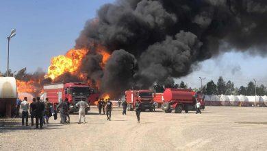 Photo of العراق اندلاع حريق في مصفاة نفط إثر سقوط صاروخ بداخلها