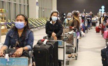 Photo of الطيران المدني: وصول أول رحلة للعمالة المنزلية وعلى متنها 61 راكباً