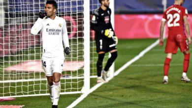 Photo of ريال مدريد يتخطى غرناطة بثنائية في صراع الليجا