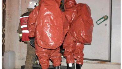 Photo of فرق الإطفاء تسيطر على تسرب لغاز الأمونيا في إحدى شركات تصنيع ا..