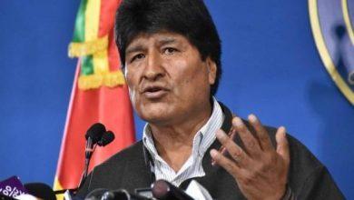 Photo of إصابة الرئيس البوليفي السابق إيفو موراليس بفيروس كورونا