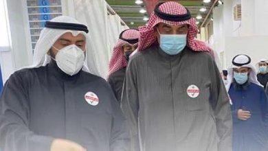 Photo of رئيس الوزراء يدشن القاعة رقم 6 بمركز الكويت للتطعيم