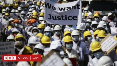 "Photo of انقلاب ميانمار: مظاهرات حاشدة تتحدى دعوات قائد الانقلاب لـ""تأييد الجيش"""