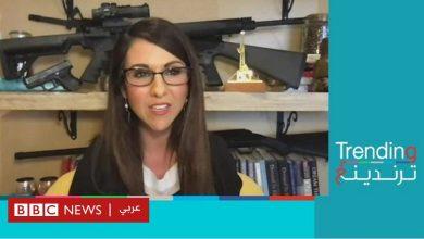 Photo of نائبة بالكونغرس تشارك في اجتماع وخلفها أسلحة!