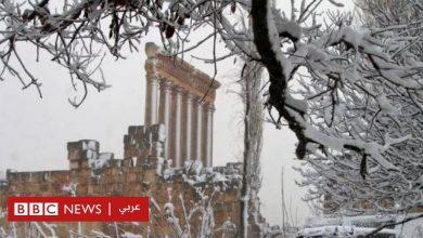 Photo of بالصور: الثلوج تكسو عدة مناطق في الشرق الأوسط