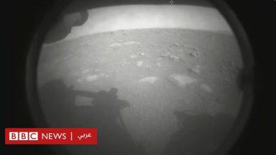 """Photo of مركبة """"المثابرة"""" التابعة لناسا تهبط بنجاح على سطح المريخ"""