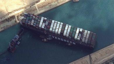 Photo of تعديل مسار السفينة العالقة في قناة   جريدة الأنباء
