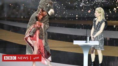 "Photo of الممثلة الفرنسية كورين ماسيرو تحتج بالظهور عارية في ""مهرجان قيصر"""