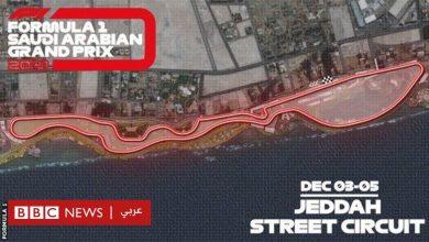 Photo of سباق فورمولا-1 في السعودية سيقام على أسرع مضمار شوارع
