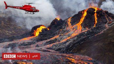 Photo of بركان آيسلندا الثائر في طريقه نحو الخمود