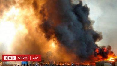 Photo of لاجئو الروهينجا: النيران تجتاح مخيم كوكس بازار في بنغلاديش