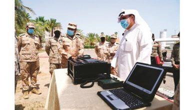 Photo of بالفيديو وزير الدفاع سلاح الإشارة   جريدة الأنباء