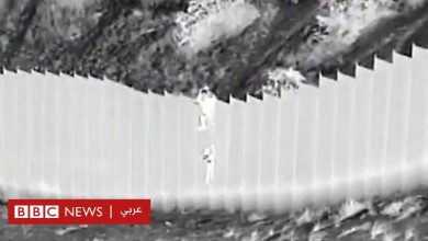 Photo of تهريب البشر: أطفال يلقون من فوق جدار حدودي مرتفع للعبور إلى الولايات المتحدة