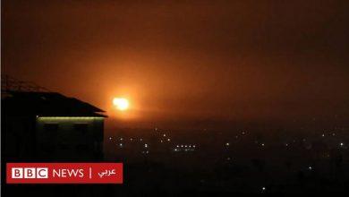 Photo of إسرائيل تقصف أهدافاً في غزة رداً على إطلاق صاروخ من القطاع