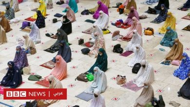 Photo of بالصور: نساء يستقبلن رمضان رغم الوباء، والأكسجين في السوق السوداء