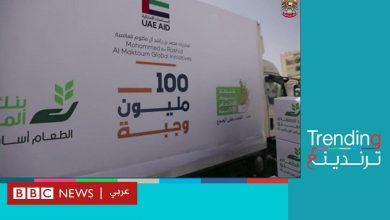 Photo of مساعدات غذائية إماراتية لمصر تثير جدلا بين المصريين