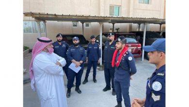 Photo of وزير الداخلية يقوم بزيارة تفقدية   جريدة الأنباء