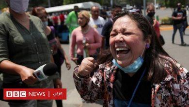 Photo of بالصور: صدمة وحزن وغضب بسبب تحطم مترو في العاصمة المكسيكية