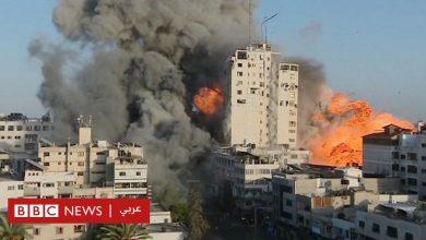Photo of إسرائيل تقصف بناية الشروق بوسط غزة أثناء بث حي لمراسل بي بي سي