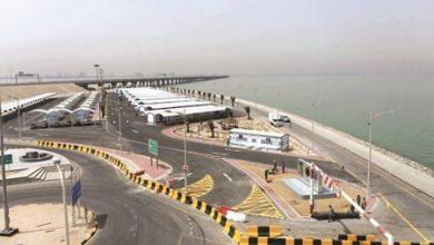 Photo of بالفيديو التطعيم بجسر جابر 5 آلاف | جريدة الأنباء