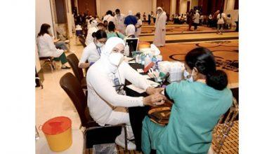 Photo of الصحة توزع 500 طالب وطالبة | جريدة الأنباء