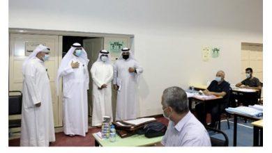 Photo of وكيل التربية يتفقد الكونترولين العلمي والأدبي