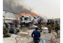 Photo of خمسة فرق للإطفاء سيطرت على حريق | جريدة الأنباء