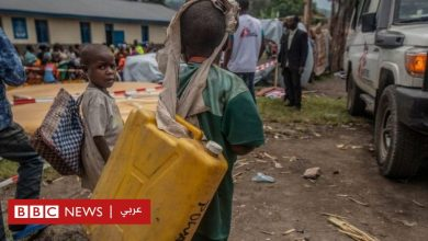 "Photo of بركان الكونغو الديمقراطية ""يحرم نصف مليون شخص من المياه"""