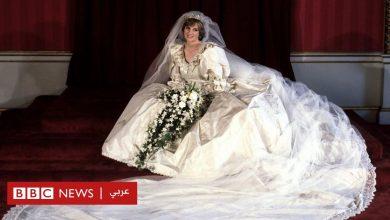 Photo of الأميرة ديانا: عرض فستان زفافها أمام الجمهور في قصر كنزنغتون