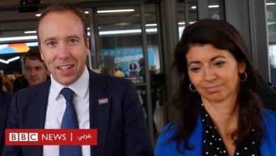 """Photo of وزارة الصحة البريطانية """"ستحقق في تسريب فيديو"""" يظهر الوزير المستقيل مات هانكوك يُقبل زميلته"""