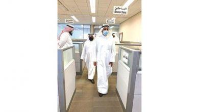 Photo of وزير العدل لموظفي مجمع محاكم   جريدة الأنباء