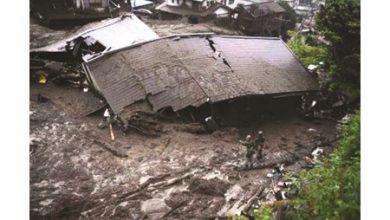 Photo of اليابان: السيول حولت المناطق السكنية إلى مستنقعات