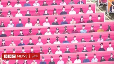Photo of أولمبياد طوكيو: عرائس وروبوتات محل الجمهور في المباريات