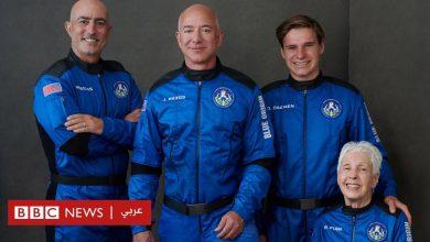 """Photo of جيف بيزوس ينطلق إلى الفضاء على متن مركبة """"نيو شيبرد"""""""