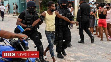 Photo of الولايات المتحدة تفرض عقوبات على مسؤولين كوبيين بعد قمع الاحتجاجات