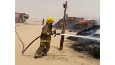 Photo of فرق الإطفاء أخمدت حريقا اندلع في   جريدة الأنباء