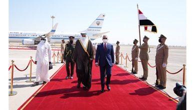 Photo of وصول ممثل صاحب السمو سمو الشيخ صباح الخالد إلى العرق