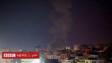 Photo of غارات الكيان الصهيوني على قطاع غزة بعد يوم من المصادمات مع متظاهرين في ذكرى حريق الأقصى