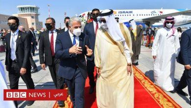 Photo of التطبيع: يائير لابيد وزير خارجية إسرائيل يفتتح سفارة لبلاده في البحرين